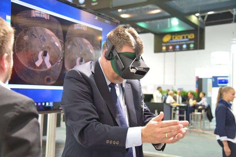 VR Messe-Spiel für die Firma A&W mit Oculus Rift und LEAP Motion