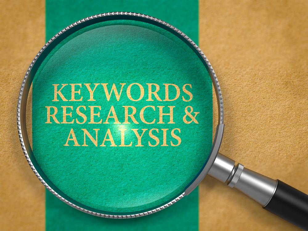 Keyword Recherche Lupe