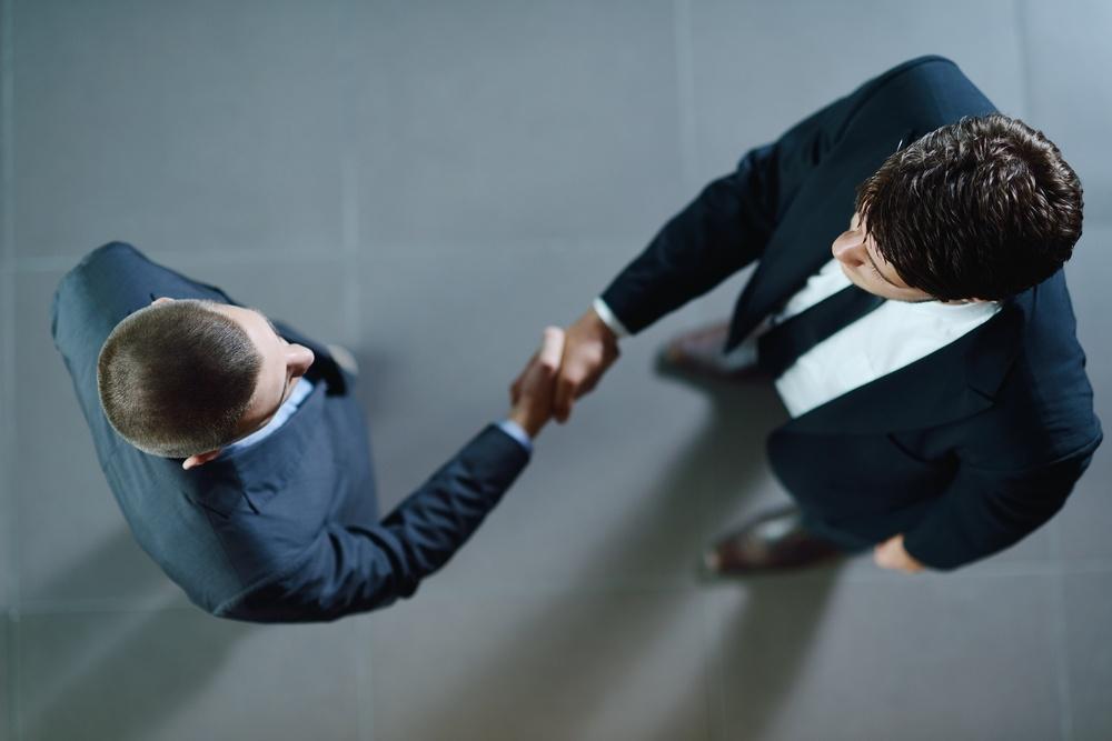 Geschäftsleute Vereinbarung Handschlag