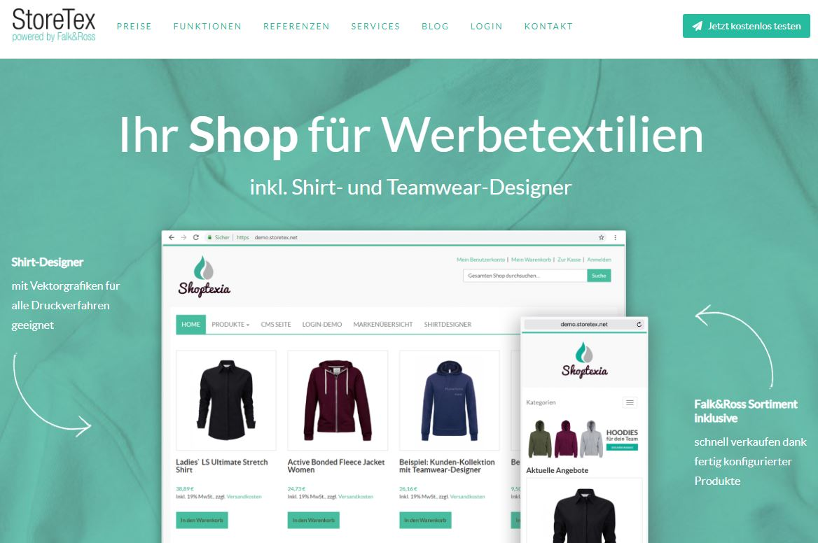 screenshot_storetex_website