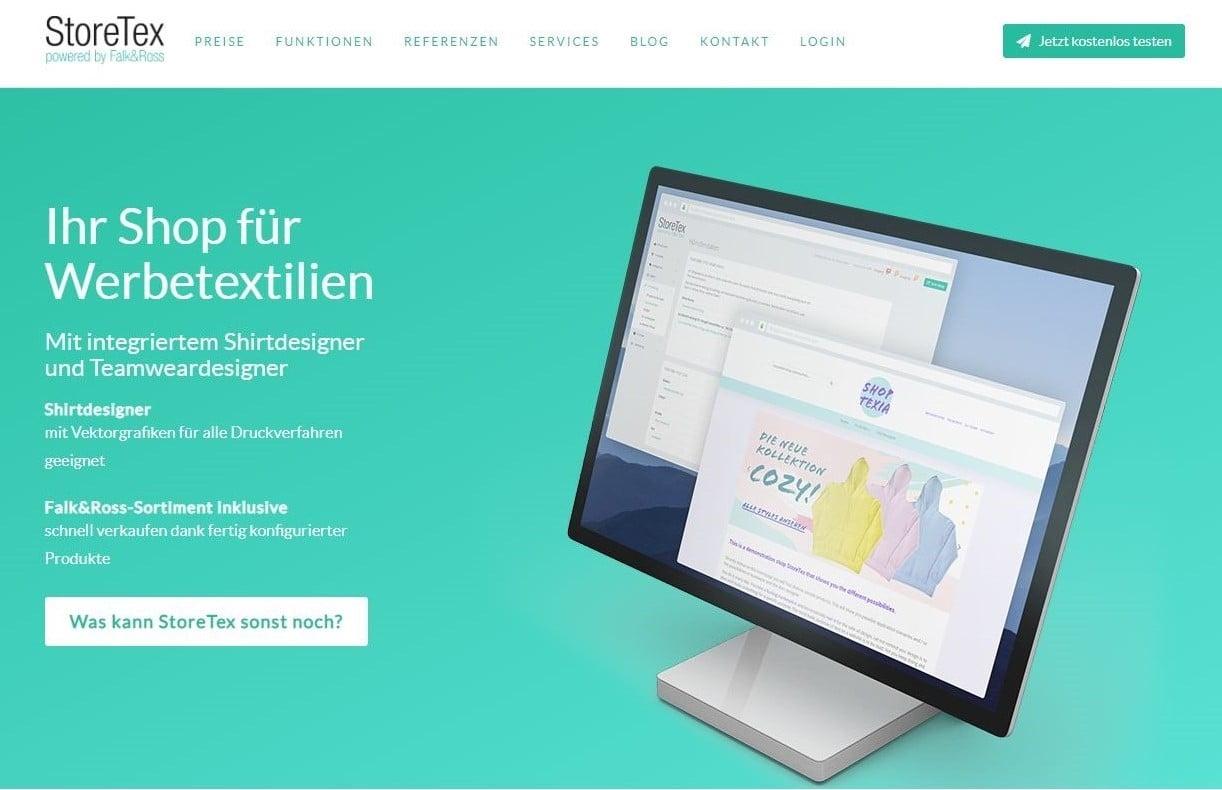 StoreText Startpage