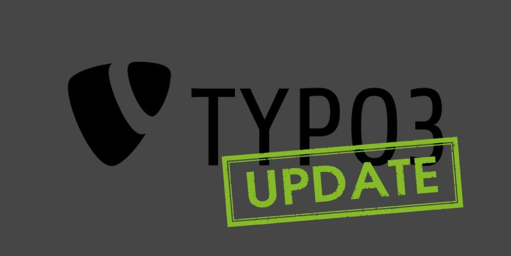 TYPO3 Update 9